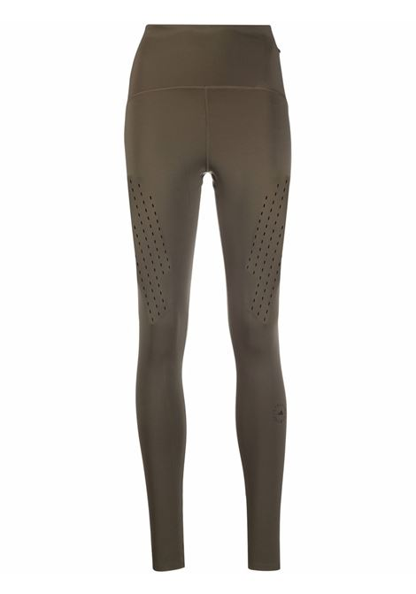 Khaki TruePurpose high-rise leggings - women ADIDAS BY STELLA MC CARTNEY | GU9479KHK