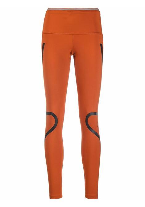 Brown TruePace two-tone leggings - women  ADIDAS BY STELLA MC CARTNEY | GU9487BRWN