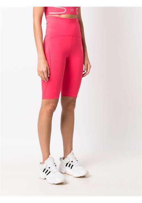 Pink logo-print cycling shorts - women  ADIDAS BY STELLA MC CARTNEY | GU9489PNK
