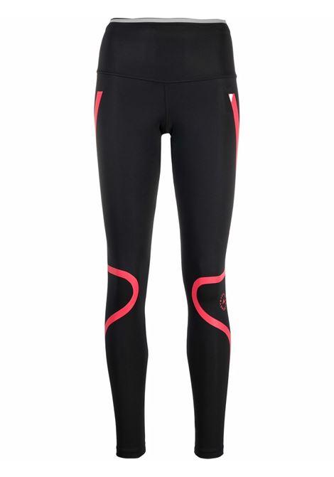 Black TruePace two-tone leggings - women  ADIDAS BY STELLA MC CARTNEY | HA8719BLKPNK