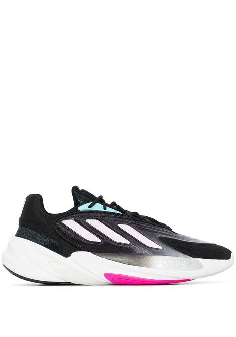 Sneakers Ozelia in nero e multicolore - donna ADIDAS | H04266BLKPNK