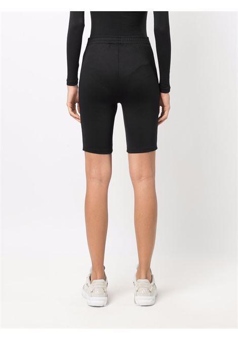 Pantaloncini a vita alta in nero - donna ADIDAS | H15812BLK
