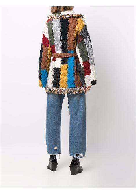 Cardigan a portafoglio multicolore - donna ALANUI | LWHB053F21KNI0088585