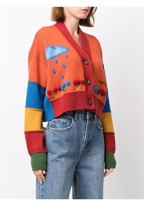 Cardigan con intarsio multicolore - donna ALANUI | LWHB055F21KNI0018585