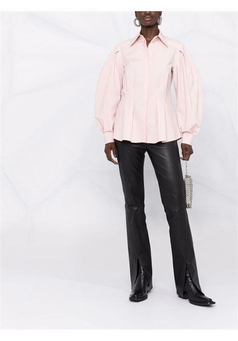 Camicia con maniche gonfie in rosa - donna ALBERTA FERRETTI | A02096629169
