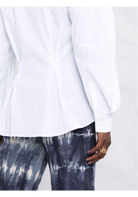 Camicia con peplum in bianco - donna ALBERTA FERRETTI | A020966291