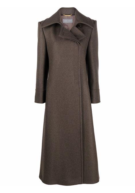 Cappotto lungo in verde - donna ALBERTA FERRETTI | A06085134434