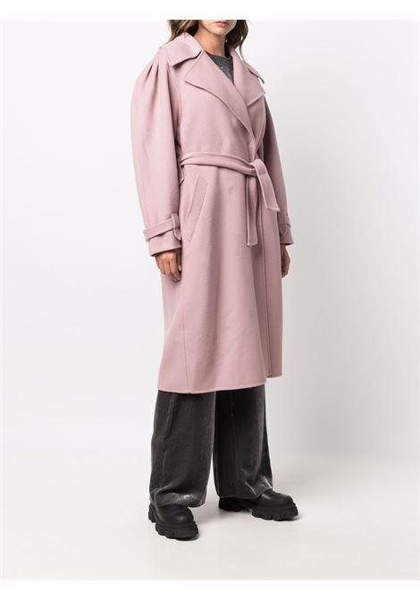 Cappotto con nodo in rosa - donna ALBERTA FERRETTI | A06116630175