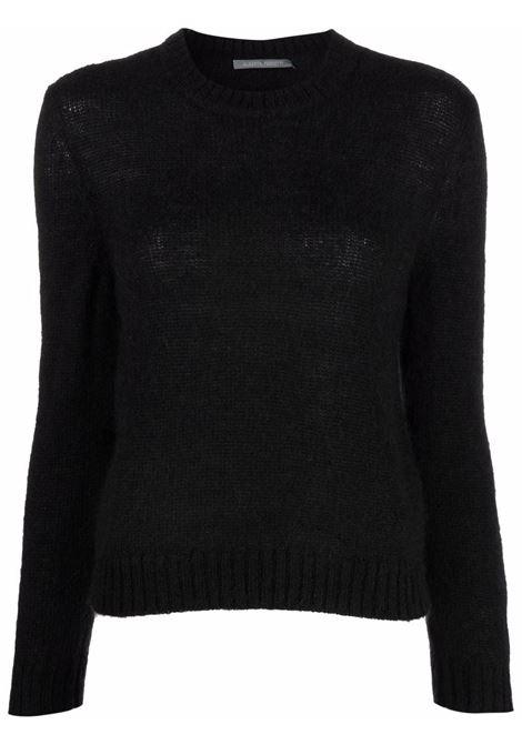 Maglione in maglia fine in nero - donna ALBERTA FERRETTI | A09275103555