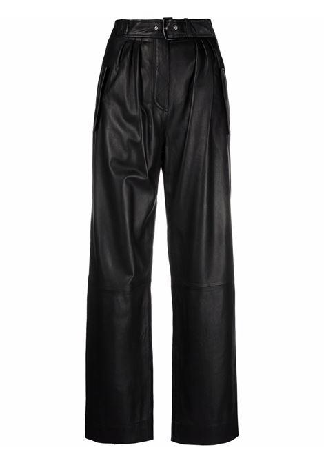 Pantaloni a vita alta in nero - donna ALBERTA FERRETTI | A37076675555