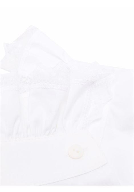 Colletto con ruches in bianco - donna ALBERTA FERRETTI | A440351261