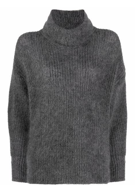 Maglia a collo alto grigio- donna ALBERTA FERRETTI | V09165103504