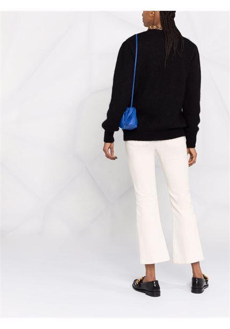 Cat intarsia knit jumper in black and multicolour - women  ALESSANDRA RICH   FAB2665K33579008