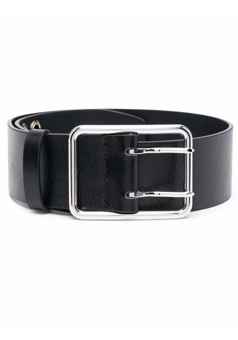 Wide buckle belt in black - women ALESSANDRA RICH   FABA2405L013807