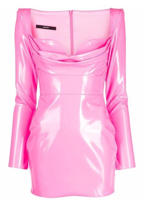 Mini abito con effetto lucido in rosa - donna ALEX PERRY | D750PNK