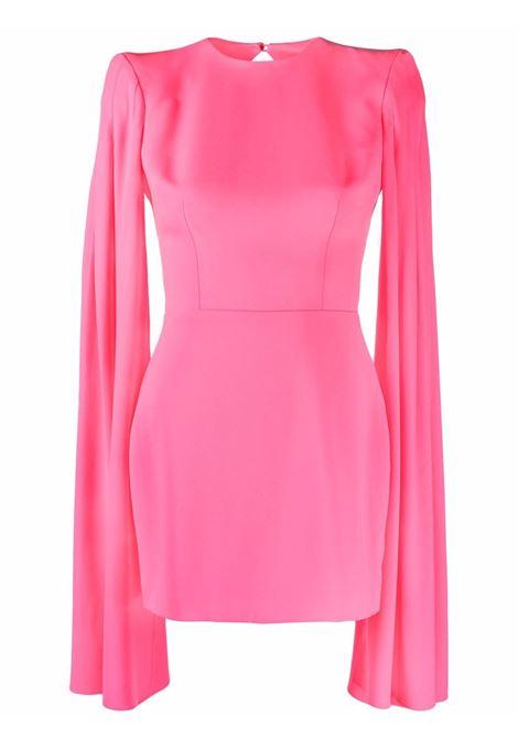 Bubblegum pink open-back dress - women  ALEX PERRY | D758PNK