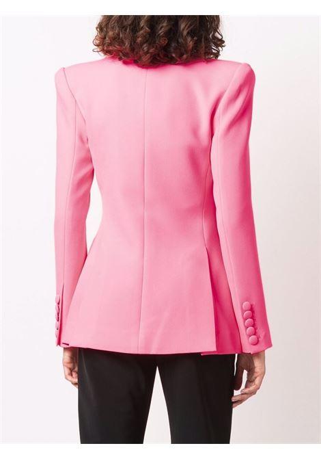 Pink single-breasted tailored blazer - women  ALEX PERRY | J060NNPNK
