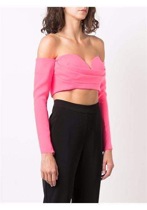 Top con scollo a cuore in rosa - donna ALEX PERRY | T137NNPNK