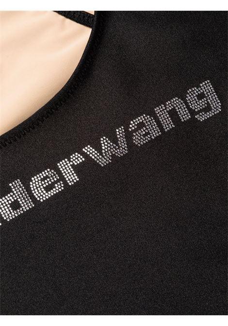 Costume intero con decorazione in nero - donna ALEXANDER WANG | 1CC3218066001