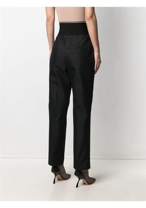 Logo waistband trousers black - women ALEXANDER WANG | 1WC2214345001