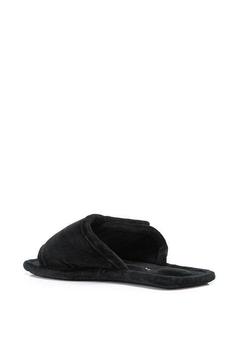 Ciabatte con logo nero- donna ALEXANDER WANG | 30321F001001