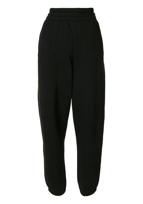Foundation terry track trousers black - women ALEXANDER WANG | Trousers | 4CC1204061001
