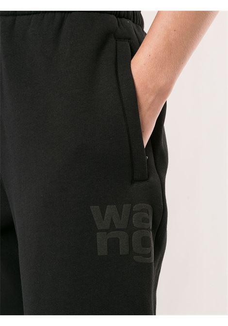 Pantaloni sportivi foundation terry nero - donna ALEXANDER WANG | 4CC1204061001