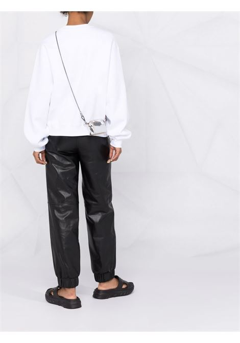 White logo-print long-sleeved sweatshirt women ALEXANDER WANG | 4CC3211285100