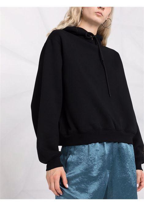 Jet-black classic pullover sweatshirt black - women ALEXANDER WANG | 4CC3212053001
