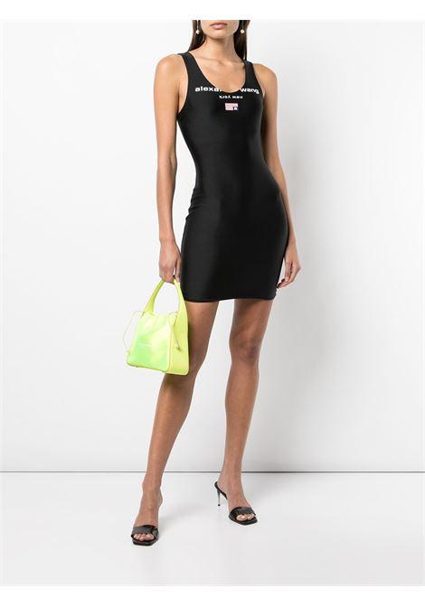 Black scoop neck tank dress - women  ALEXANDER WANG | 4CC3216132001
