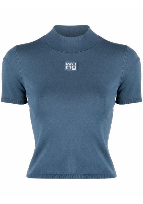 Winter blue roll-neck top - women  ALEXANDER WANG | 4KC2191008469