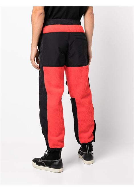Red and black panelled track trousers - women  ALEXANDER WANG | UCC4214398623