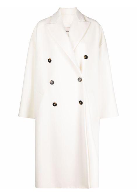 Cappotto doppiopetto in bianco - donna ALEXANDRE VAUTHIER | 214COA1502OFFWHT