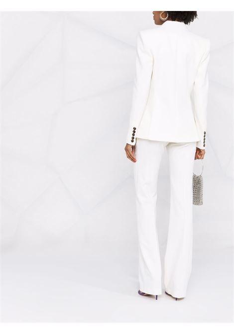 Blazer monopetto in bianco - donna ALEXANDRE VAUTHIER | 214JA1500OFFWHT