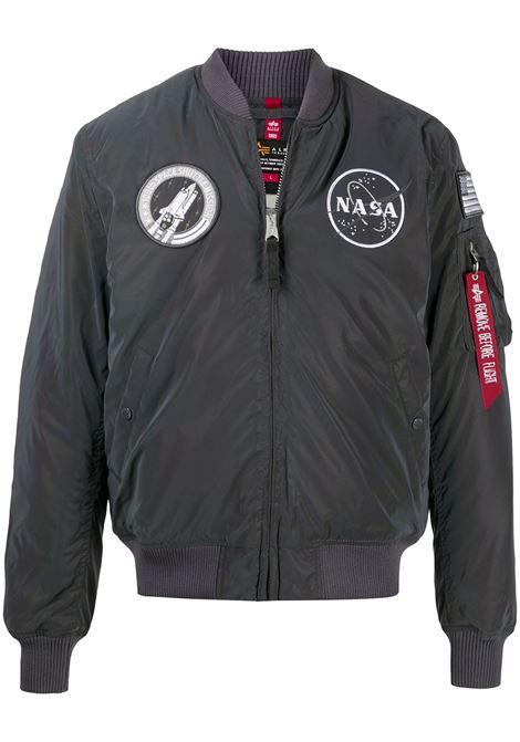 Bomber NASA in grigio - uomo ALPHA INDUSTRIES | 128112RR572