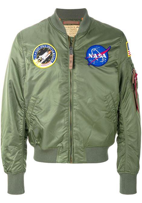Bomber NASA in verde - uomo ALPHA INDUSTRIES | 16610701