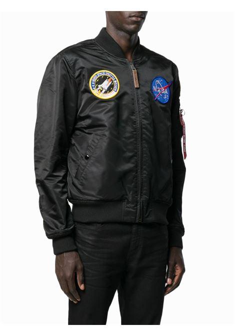 Bomber NASA in nero - uomo ALPHA INDUSTRIES | 16610703