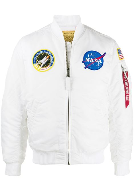 Bomber NASA in bianco - uomo ALPHA INDUSTRIES | 16610709