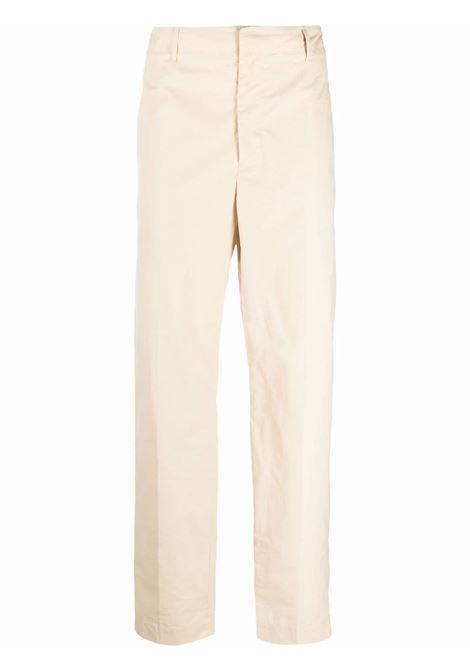 Beige straight-leg trousers - men  AMBUSH | BMCA017F21FAB0016100