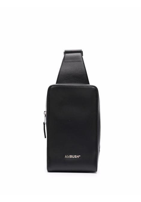 Black messenger bag - men  AMBUSH | BMNN001F21LEA0011072