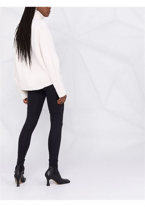 Black stirrup high-waist leggings - women  AMBUSH | BWCD004F21JER0011000