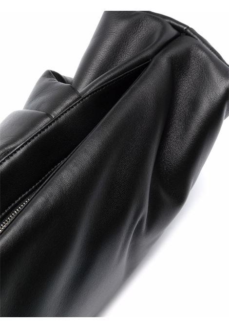 Black Wrap clutch - women  AMBUSH | BWNM003F21LEA0011072