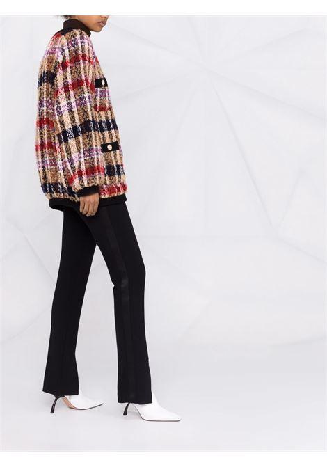 Cardigan con stampa multicolore- donna AMEN | AMW21101174