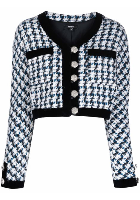 Top a giacca blue- donna AMEN | AMW21102006