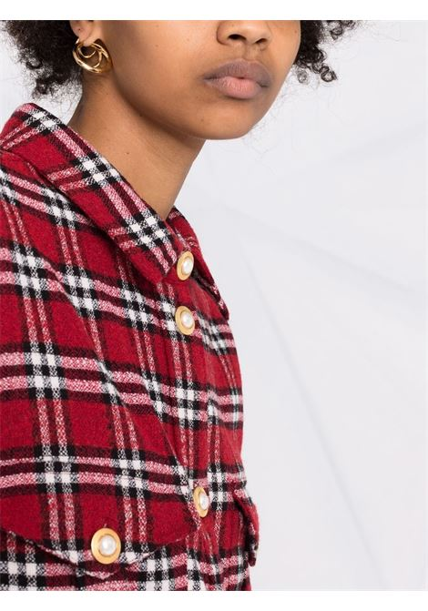 Camicia a maniche lunghe rosso- donna AMEN | AMW21229003