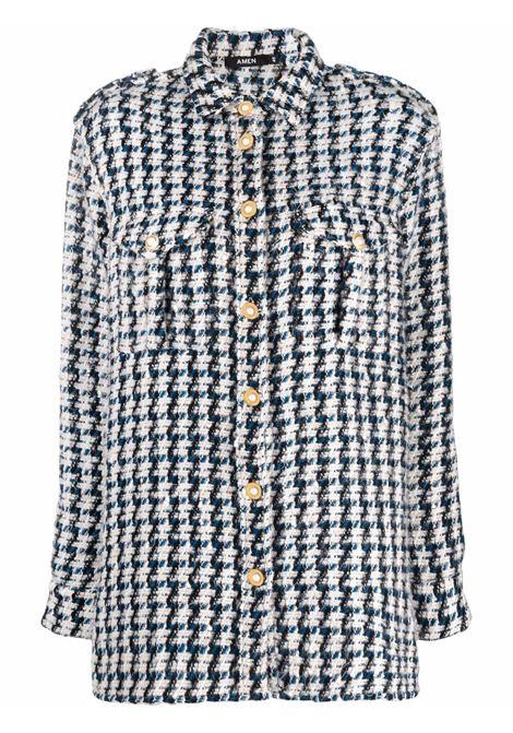 Camicia con bottoni blue- donna AMEN | AMW21230006