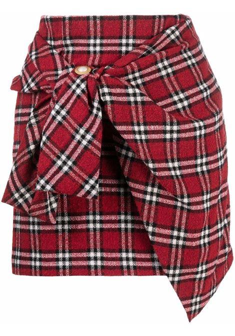 Mini gonna rosso- donna AMEN | AMW21315003