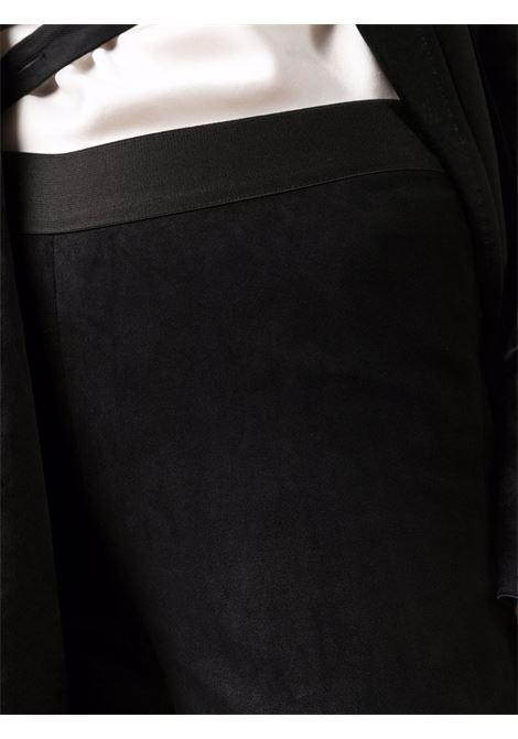 Pantaloni skinny con elastico in nero - donna ANN DEMEULEMEESTER | 2102ETR30276099