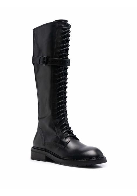 Stivali stringati danny in nero - donna ANN DEMEULEMEESTER | 2102WC02380099