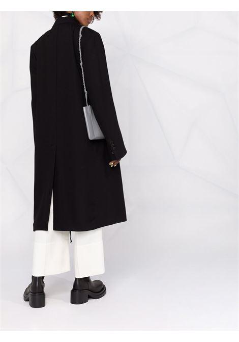 Cappotto sartoreale monopetto in nero - donna ANN DEMEULEMEESTER | 2102WCO07190099